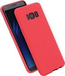 Etui Candy Samsung A730 A8 Plus 2018 cze rwony/red