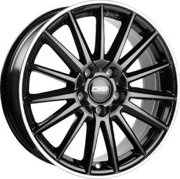 CMS C23 Black Horn Polished 8x18 5x114.3 ET46