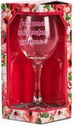 BGtech Kieliszek do wina 220 ml - zabawna, inteligentna