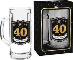 """BGtech Kufel do piwa Gold 500 ml """"40"""""""
