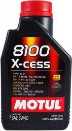 Olej silnikowy Motul 8100 X-Cess syntetyczny 5W-40 1L