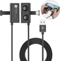 Kabel USB Baseus Baseus Suction Cup kabel USB Lightning z przyssawką dla graczy 1.5A 3M czarny (CALXP E01) ID produktu: 5314138