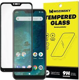 Wozinsky Wozinsky super wytrzymałe szkło hartowane Full Glue na cały ekran z ramką Case Friendly Xiaomi Mi A2 Lite / Redmi 6 Pro czarny