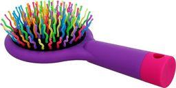 Twish TWISH_Handy Hair Brush with Mirror szczotka do włosów z lusterkiem Lavender Floral