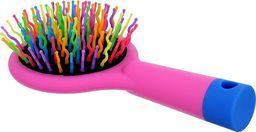 Twish TWISH_Handy Hair Brush with Mirror szczotka do włosów z lusterkiem Rose Pink