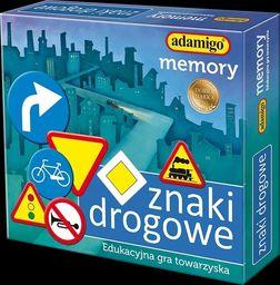 Adamigo Gra Memory znaki drogowe