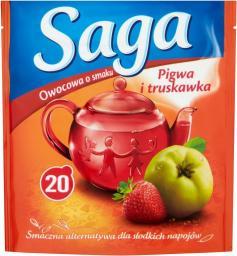 Saga  Herbata owocowa Pigwa i Truskawka