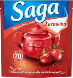 Saga  Herbata owocowa Żurawina
