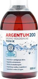Aura Herbals Tonik do twarzy Argentum 200 25PPM Srebro Koloidalne 500ml