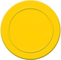 Aster Talerzyki papierowe 18 cm 6 szt - żółte