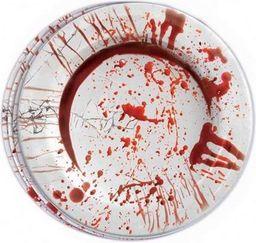 Aster Talerzyki z krwią na Halloween - 8 szt - 23 cm