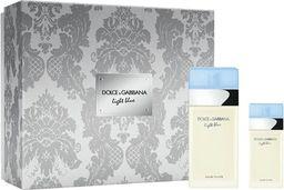 Dolce & Gabbana Zestaw Light Blue Woman EDT spray 100ml + EDT spray 25ml