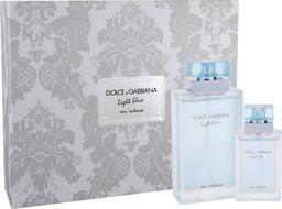 Dolce & Gabbana Zestaw Light Blue Woman Eau Intense EDT spray 100ml + EDT spray 25ml