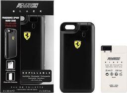 Ferrari Zestaw Black EDP 2x25ml Refillable + Fragrance Spray Hard Case For iPhone 6