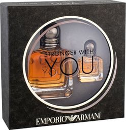 Giorgio Armani Zestaw  Stronger With You EDT Pour Homme 50ml + miniatura 7ml