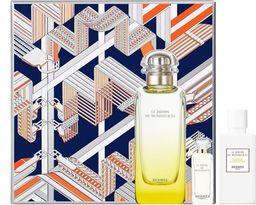 HERMES Zestaw Le Jardin De Monsieur Li EDT spray 100ml + Body lotion 80ml + Miniatura EDT 7,5ml