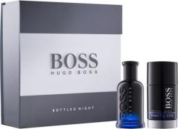HUGO BOSS Bottled Night EDT spray 50ml + Stick 75ml