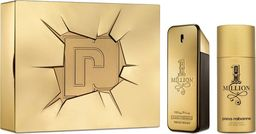 PACO RABANNE Zestaw  1 Million Men EDT spray 100ml  + Deo spray 150ml