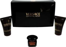VERSACE Crystal Noir Miniatura 5ml + Shower Gel  25ml + Body Lotion 25ml