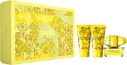 VERSACE Zestaw Yellow Diamond EDT spray 50ml + body lotion 50ml + shower gel 50ml