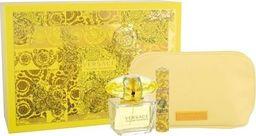 VERSACE Zestaw Yellow Diamond EDT spray 90ml + EDT spray 10ml + kosmetyczka
