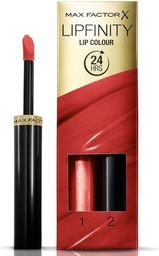 MAX FACTOR MAX FACTOR_SET Lipfinity Lip Colour pomadka do ust 125 So Glamorous 2,3ml + Top Coat 1,9g