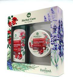 Farmona FARMONA_SET Herbal Care Dzika Róża żel pod prysznic 500ml + masło do ciała 200ml