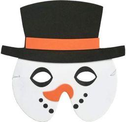 Aster Maska piankowa bałwan przebrania dla dzieci