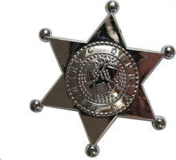 Aster Gwiazda , odznaka szeryfa srebrna do zabawy