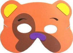 Aster Maska piankowa dla dzieci - miś (308850-uniw)