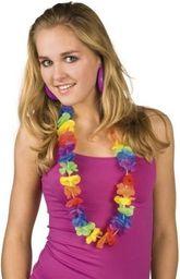 Aster Naszyjnik Kwiaty hawajskie - przebrania dla dorosłych
