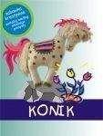 Akson Zestaw Kreatywny dla dzieci KONIK 5 farb do tkanin