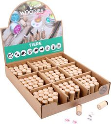 Small Foot Stempelki, pieczątki drewniane, 1 szt., zabawki montessori, dla dzieci kod prod.10311