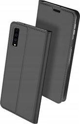 Dux Ducis Skin Pro etui pokrowiec z klapką Samsung Galaxy A7 2018 A750 szary