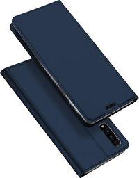 Dux Ducis Skin Pro etui pokrowiec z klapką Samsung Galaxy A7 2018 A750 niebieski