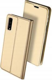 Dux Ducis Skin Pro etui pokrowiec z klapką Samsung Galaxy A7 2018 A750 złoty