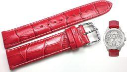 Timex Pasek do zegarka Timex T2M709 P2M709 18 mm Skóra