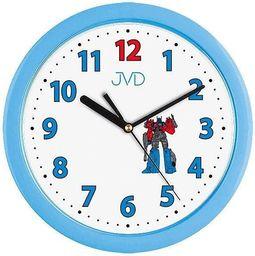 JVD Zegar ścienny H12.6 Dziecięcy Transformers