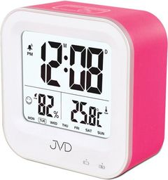 JVD Budzik akumulatorowy SB9909.2 z termometrem i higrometrem