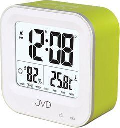 JVD Budzik akumulatorowy SB9909.1 z termometrem i higrometrem