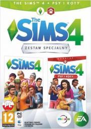 Gra PS4 The Sims 4 + dodatek Psy i Koty