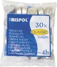 Tealight biały 30 szt. (7436)