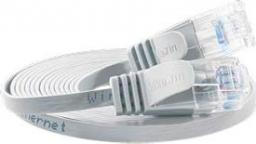 Wirewin Patchcord płaski CAT6 UTP, 1.5m (PKW-SLIM-KAT6 1.5 WS)