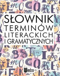 Dominów Zuzanna, Dominów Marcin - Słownik terminów literackich i gramatycznych, oprawa miękka