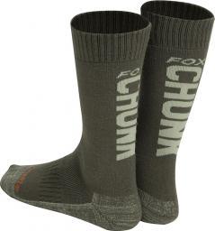 FOX CHUNK Thermolite long sock 6 - 9 (Eu 40-43)