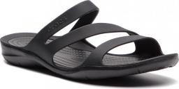 Crocs Klapki damskie Swiftwater Sandal black/black r. 36.5 (203998)