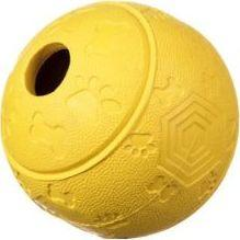 Barry King Piłka na przysmaki z labiryntem żółta 8 cm