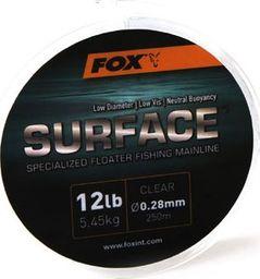 FOX Edges Floater Line 0.28mm / 12lb / 5.45kg x 250m clear (CML128)