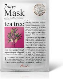 Ariul Maseczka do twarzy 7 Days Mask Tea tree 20ml