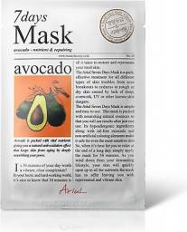 Ariul Maseczka do twarzy 7 Days Mask Avocado 20ml
